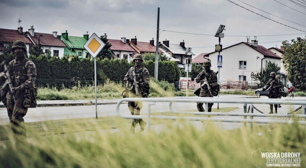 Na Podkarpaciu trwa szkolenie zintegrowane żołnierzy WOT