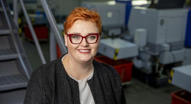 Małgorzata Bieniaszewska, właścicielka firmy MB Pneumatyka