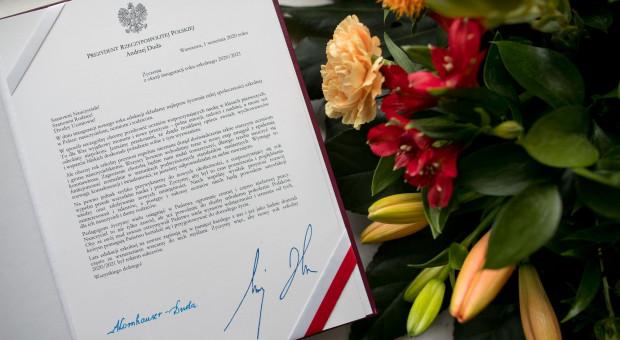 Para prezydencka złożyła życzenia nauczycielom, uczniom i rodzicom