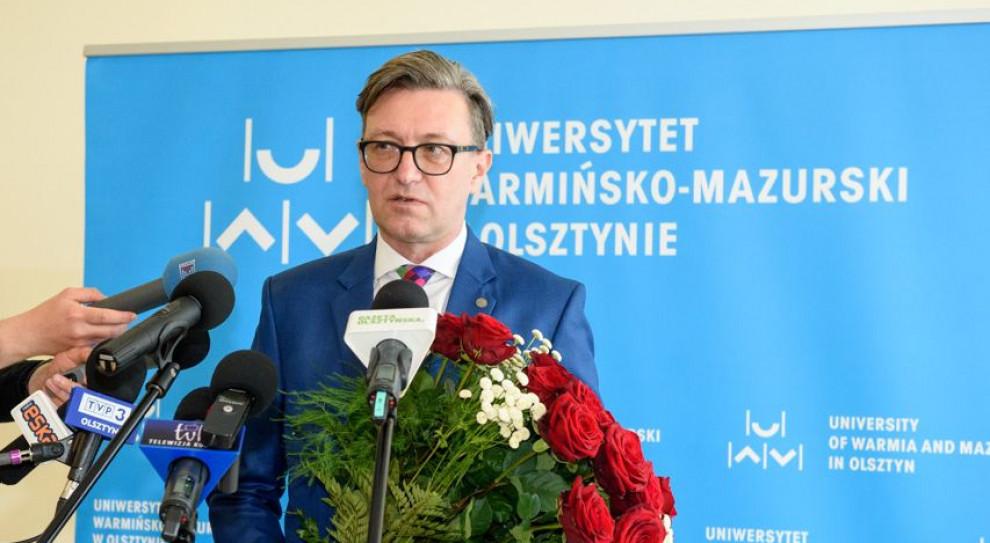 Prof. Jerzy Przyborowski rektorem Uniwersytetu Warmińsko-Mazurskiego