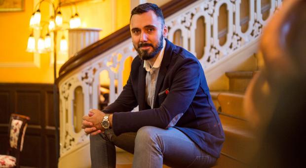 Michał Ryszkiewicz, managing partner w agencji kreatywnej Kamikaze