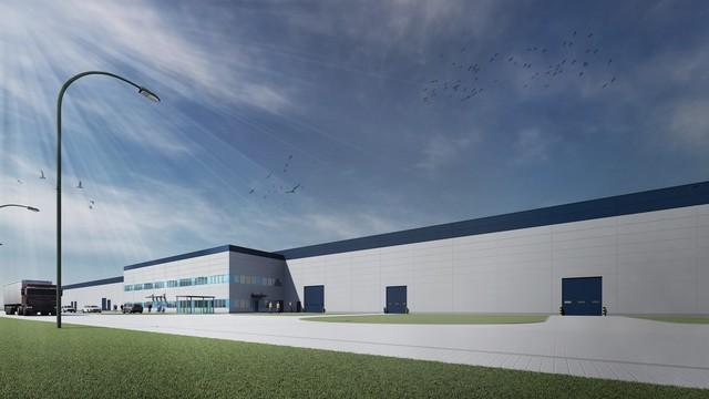 Wizualizacja fabryki (fot. panattonieurope.com)