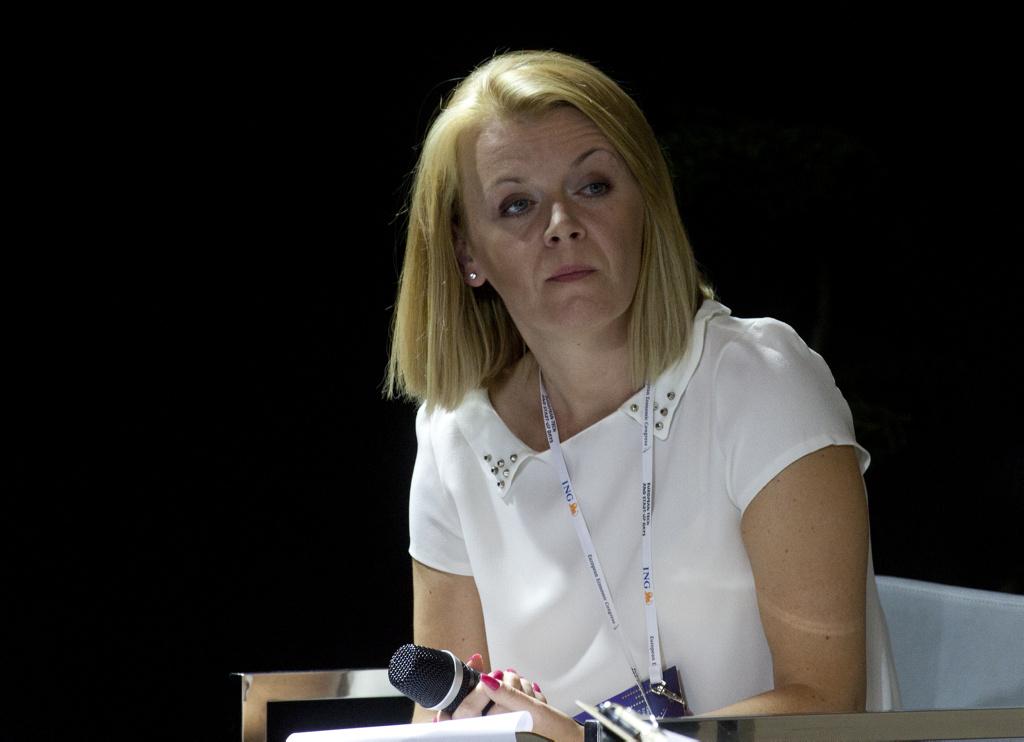Aneta Kaczmarek, dziennikarka WNP.pl i Portalsamorzadowy.pl, moderatorka sesji
