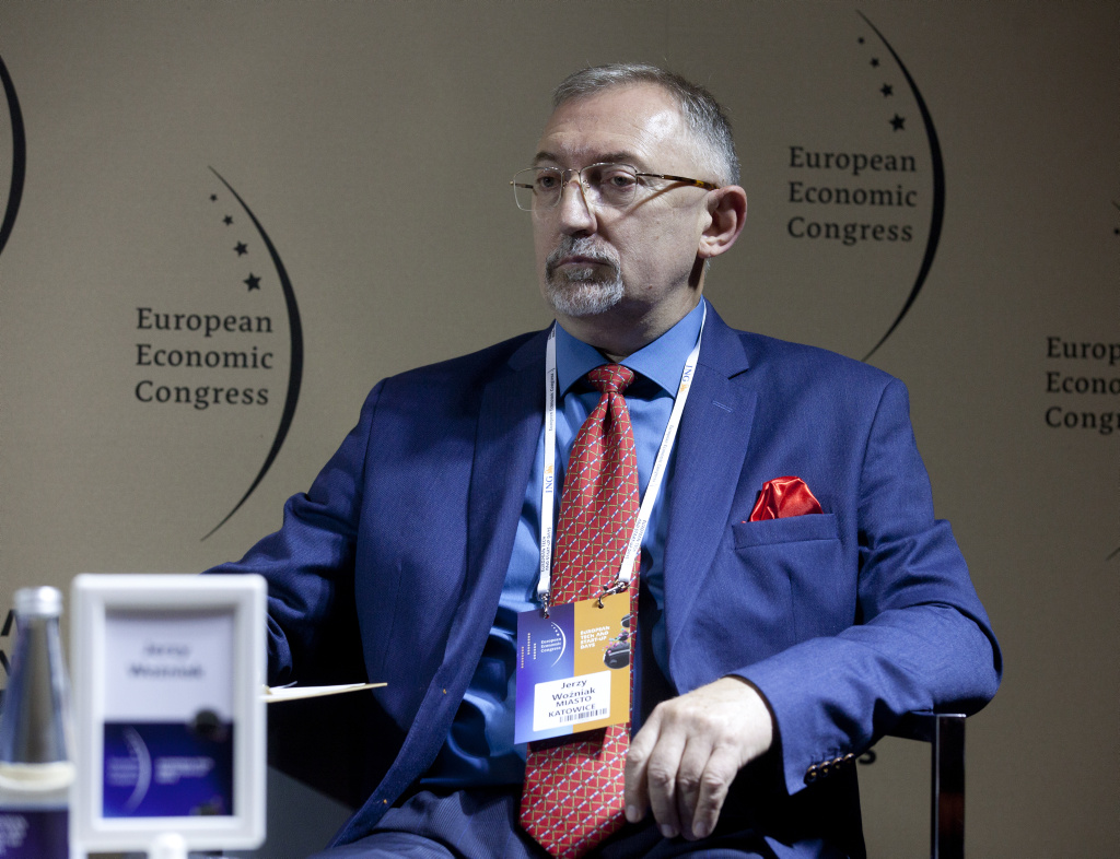 Jerzy Woźniak, wiceprezydent Katowic