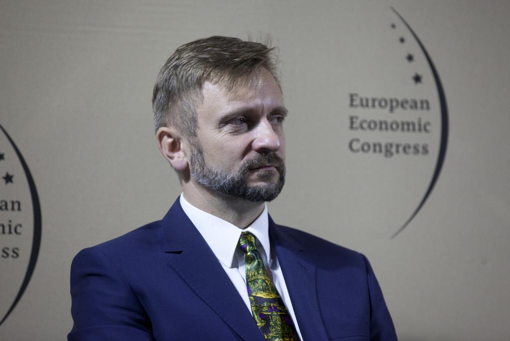 Robert Perkowski, wiceprezes zarządu ds. operacyjnych w PGNiG (fot. PTWP)