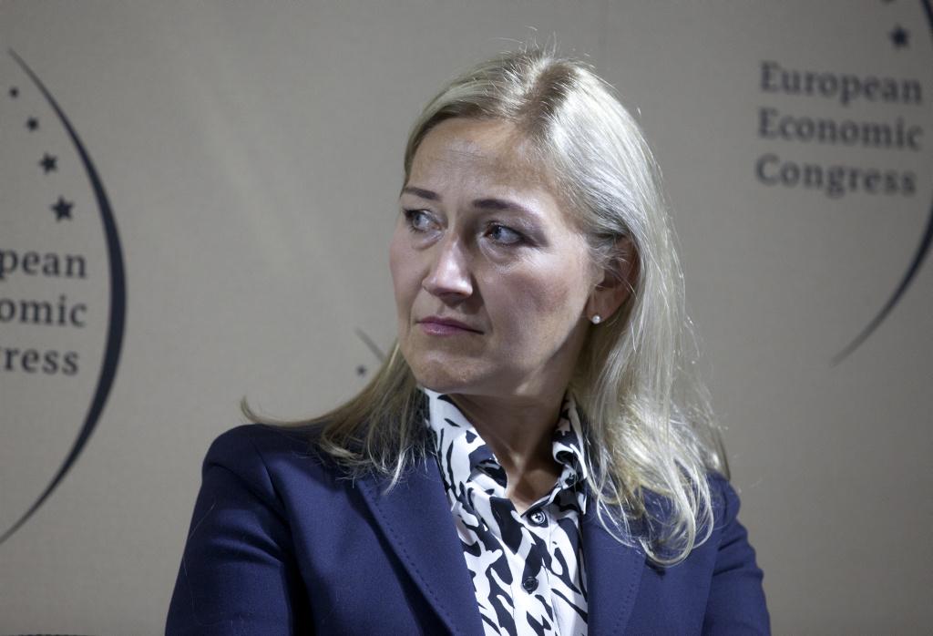 Klaudia Rogowska, dyrektor Górnośląskiego Centrum Medycznego im. prof. Leszka Gieca Śląskiego Uniwersytetu Medycznego w Katowicach (fot. PTWP)