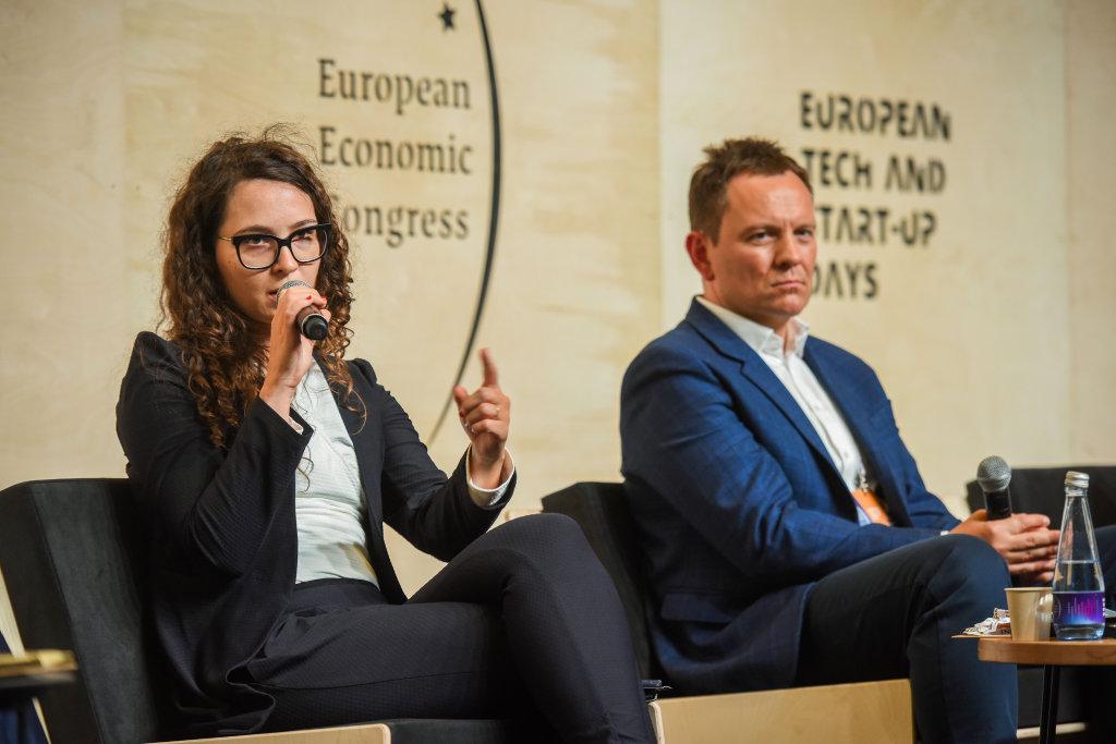 Justyna Orłowska, dyrektor Programu GovTech Polska, pełnomocnik Prezesa Rady Ministrów ds. GovTech (fot PTWP)
