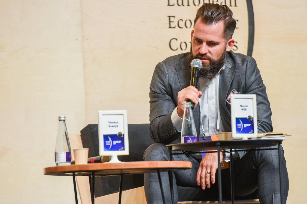 Marcin Wilk, prezes zarządu Śląskiego Funduszu Rozwoju (fot. PTWP)