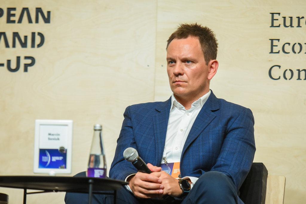 Marcin Seniuk, dyrektor w Departamencie Rozwoju Startupów Polskiej Agencji Rozwoju Przedsiębiorczości (fot. PTWP)