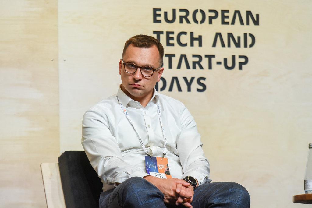 Tomasz Snażyk, CEO Fundacji Startup Poland (fot. PTWP)