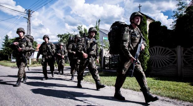 Łódzcy terytorialsi szkolą się na poligonie w Toruniu