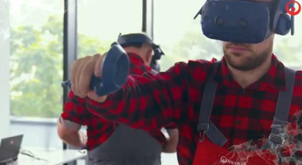 Ciepłownicy szkolą się, wykorzystując wirtualną rzeczywistość