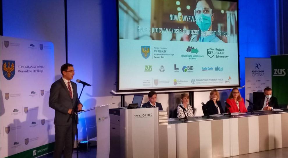 Opole: Wpływ pandemii na rynek pracy mniejszy, niż zakładano