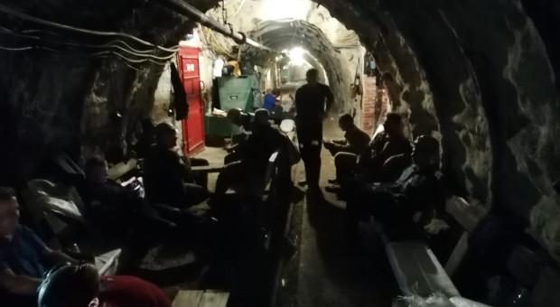 Kolejne kopalnie przyłączają się do górniczego protestu
