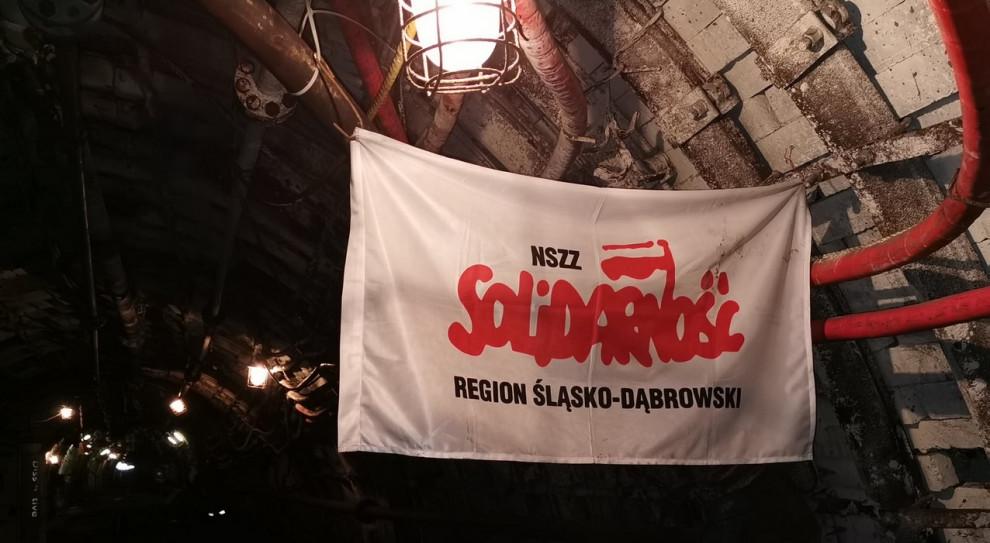 Podziemny protest górników: Zespoły robocze omawiają sytuację kopalń