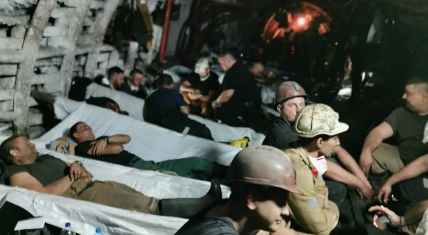 PGG: Pod ziemią protestuje 215 górników