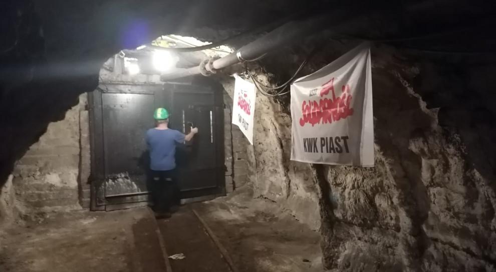Protest górników: Jest porozumienie w sprawie zasad i tempa transformacji górnictwa