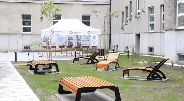 Ogrody nauki w katowickim kampusie Politechniki Śląskiej