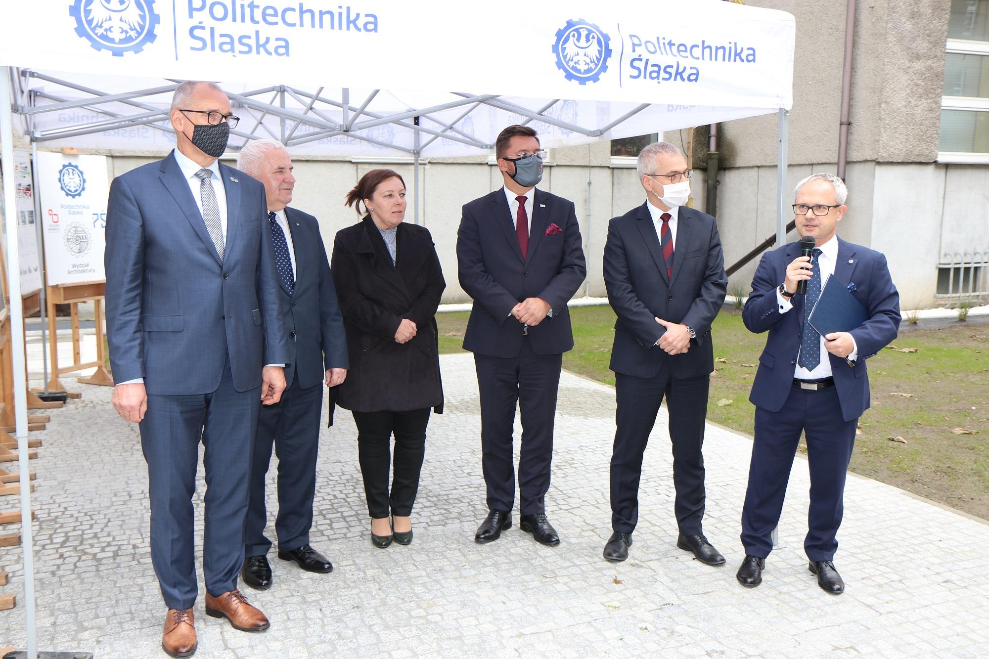 Inwestycja to efekt współpracy uczelni z miastem (fot. PŚ)