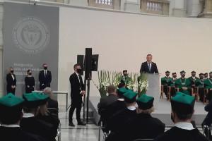 Prezydent: Uczelnie powinny dawać przykład poszanowania wolności przekonań