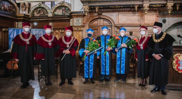 Na 50-lecie Uniwersytetu Gdańskiego tytuły doktora honoris causa dla trzech byłych rektorów
