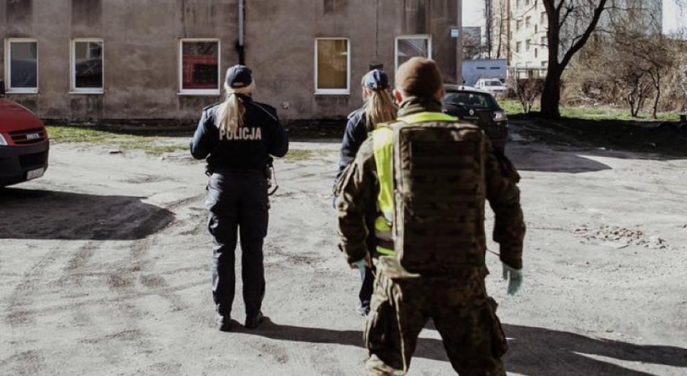 Szef MON: żołnierze WOT wspólnie z Policją kontrolują przestrzeganie kwarantanny