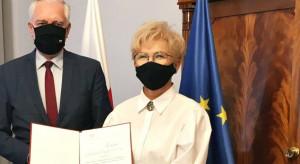 Iwona Michałek wiceministrem w resorcie rozwoju, pracy i technologii
