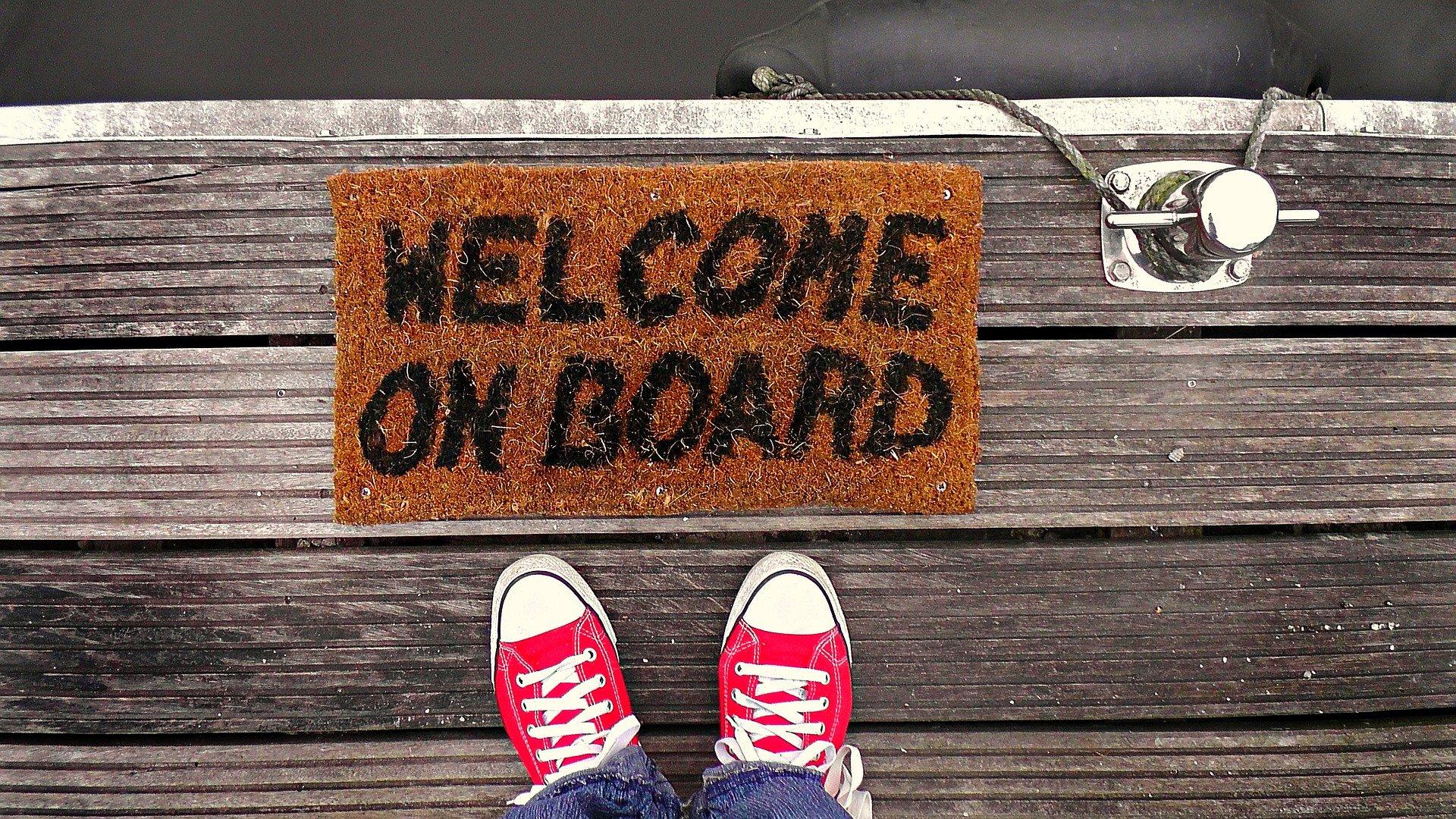 """Pewne elementy """"klasycznego"""" onboardingu powrócą po zakończeniu pandemii... (Fot. Pixabay)"""