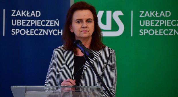 Uścińska: Pełne składki od zleceń to 4 mld zł więcej wpłat do ZUS