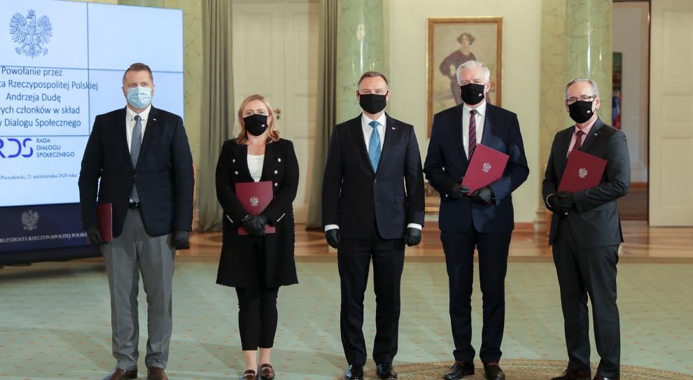 Nowi członkowie Rady Dialogu Społecznego ze strony rządowej