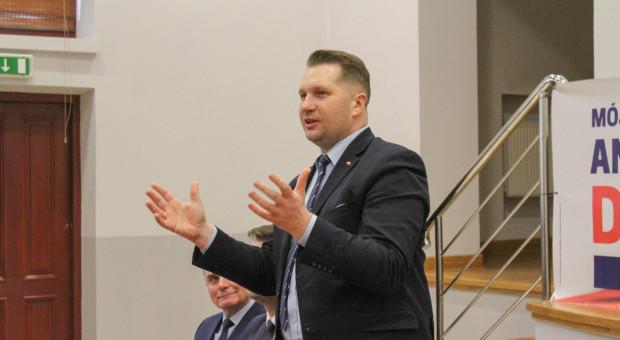 Czarnek: Rektorzy zachęcający do manifestacji zwiększają zagrożenie pandemią