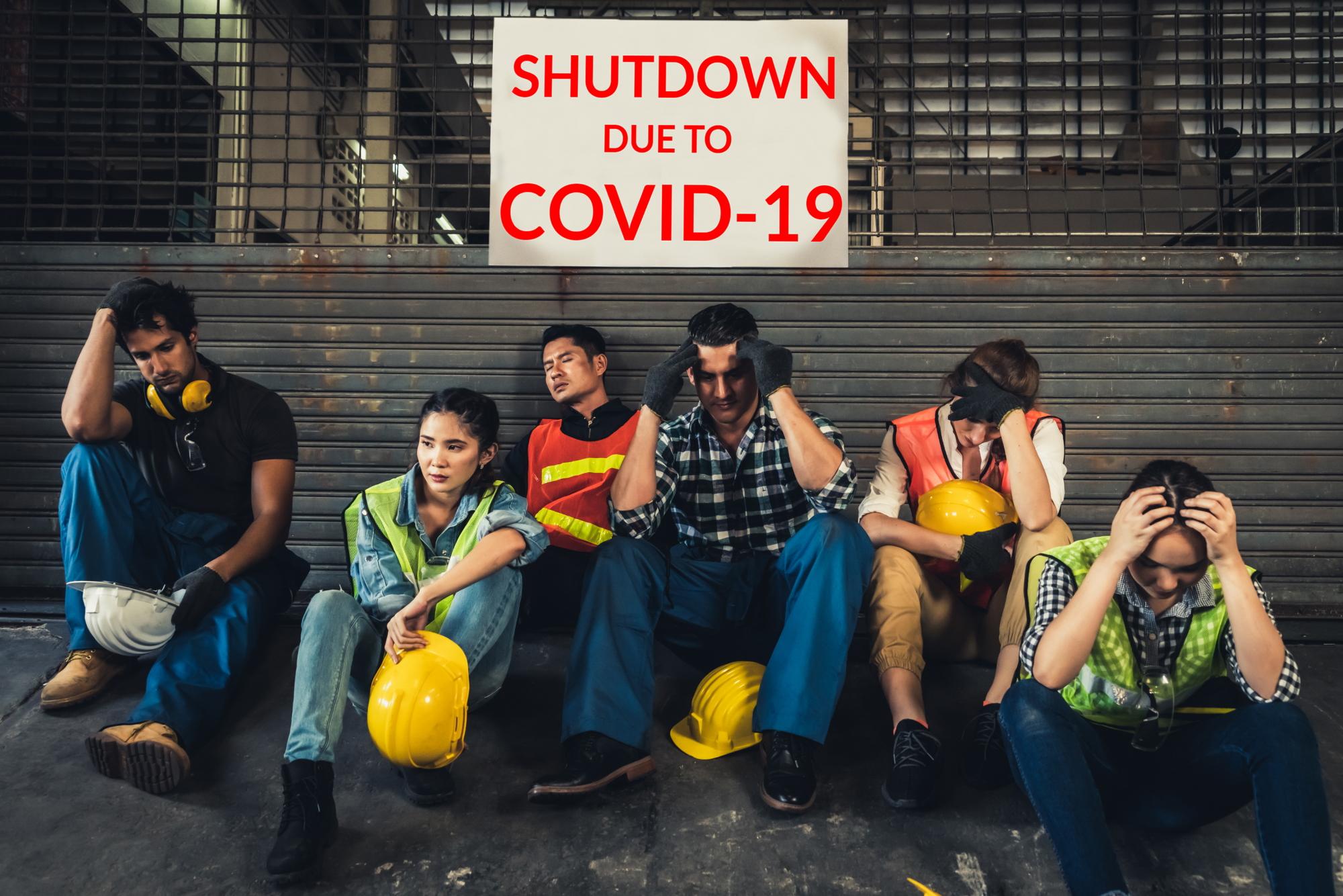 Co piąty Polak, w grupie respondentów zaniepokojonych potencjalnym zwolnieniem, obawia się utraty pracy z powodu braku finansowej pomocy od państwa (Fot. Shutterstock)