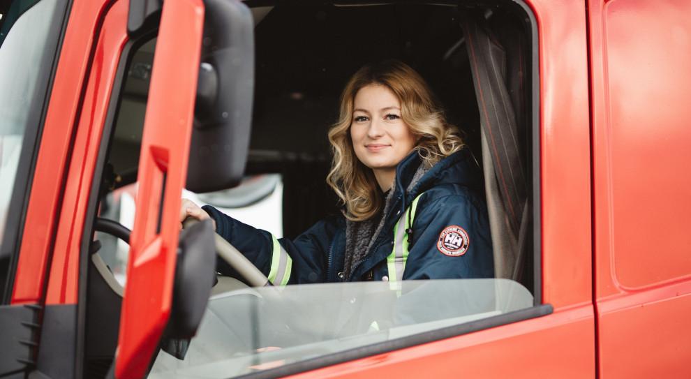 Iwona Blecharczyk, czyli Trucking Girl (fot. archiwum prywatne)