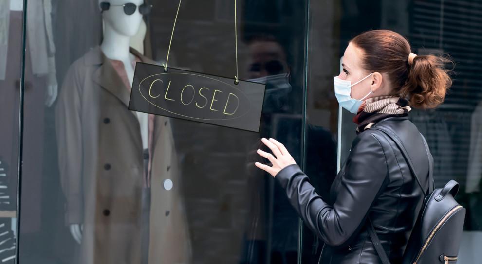 Listopadowy lockdown przyniósł handlowcom miliardowe straty