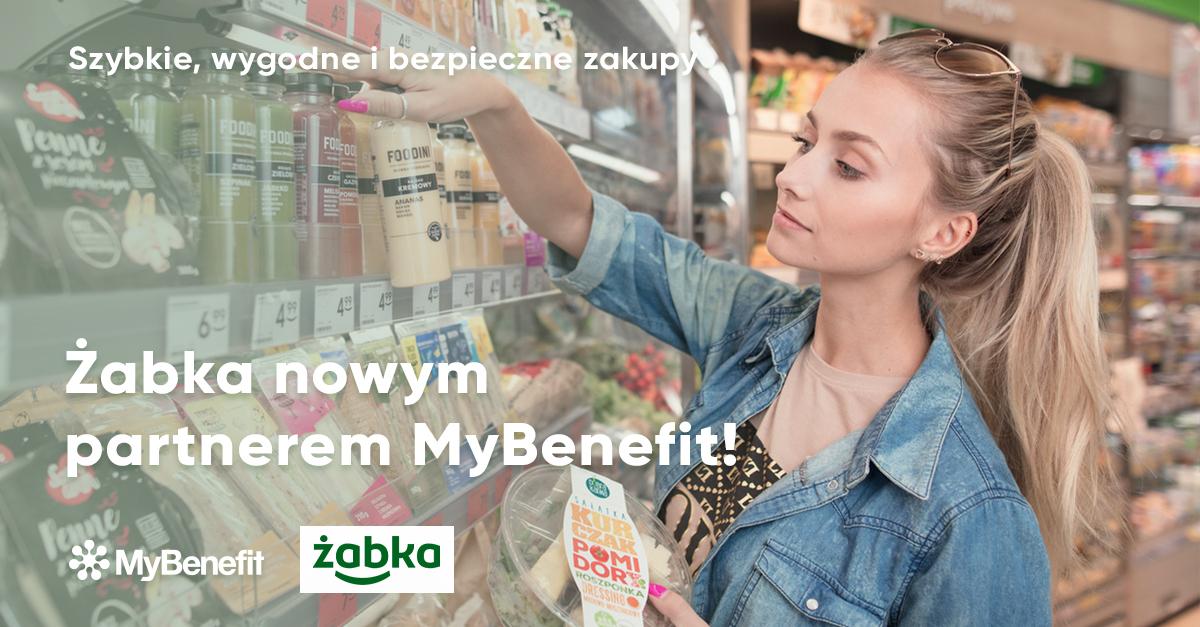 Pracodawcy mogą dofinansować zakupy w sieci Żabka (fot. MyBenefit)