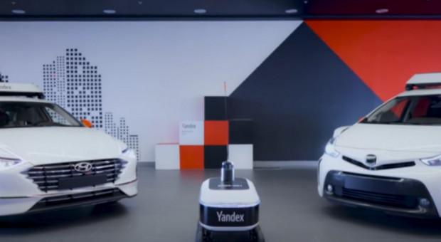 """""""Rosyjski Google"""" uruchomił dostawy posiłków za pomocą robotów"""