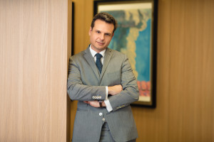 Dimitris Raptis CEO Grupy Globalworth