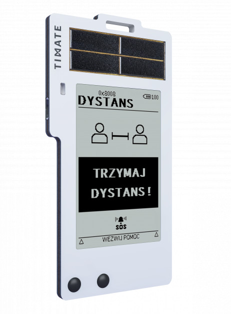 """Stworzony w Chorzowie system """"Timate"""" rejestruje i zarządza czasem pracy. (fot. mat. pras.)"""