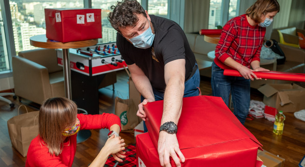 Ponad 1,5 tys. pracowników zaangażowało się w akcję wolontariacką