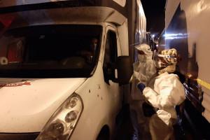Polscy medycy robią w Dover testy kierowcom czekającym na wjazd do Francji