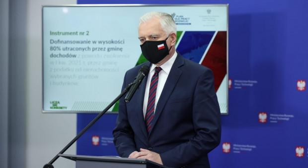 Gowin: Ogłosimy dodatkową listę kodów działalności gospodarczej objętych tarczą
