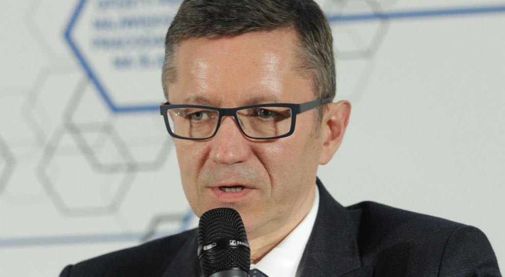 Prof. Robert Tomanek, wiceminister MRPiT (Fot. PTWP)