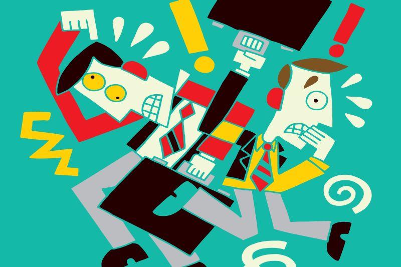Permanentny stres i pośpiech są przede wszystkim przyczyną zmęczenia. (Fot. Shutterstock)