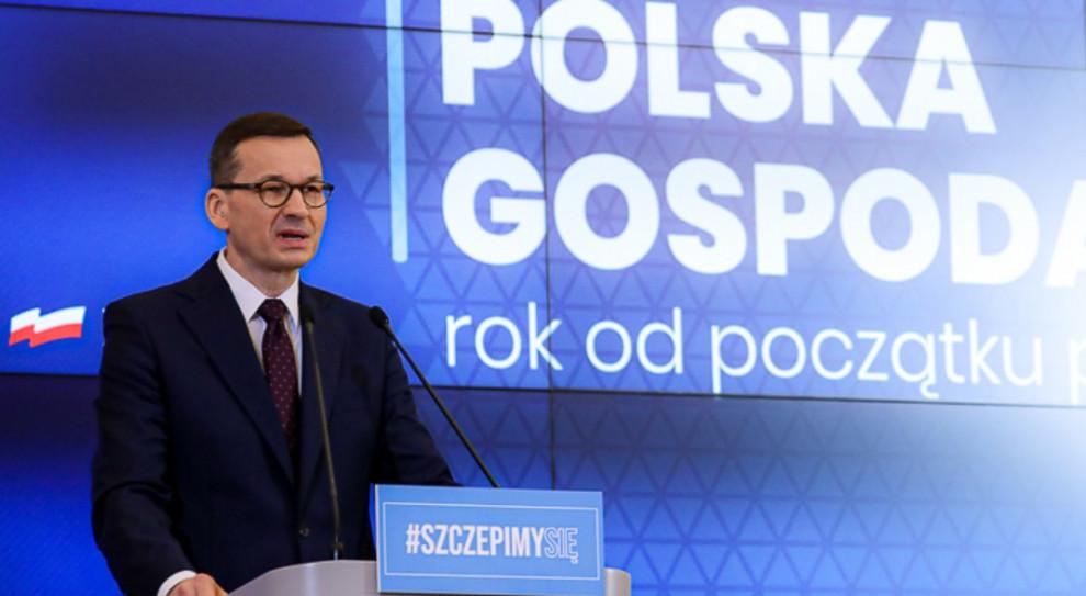 Premier: Polska gospodarka okazała się odporna na wstrząsy spowodowane koronawirusem