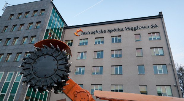 Związkowcy JSW pikietowali przed biurem europosłanki Izabeli Kloc