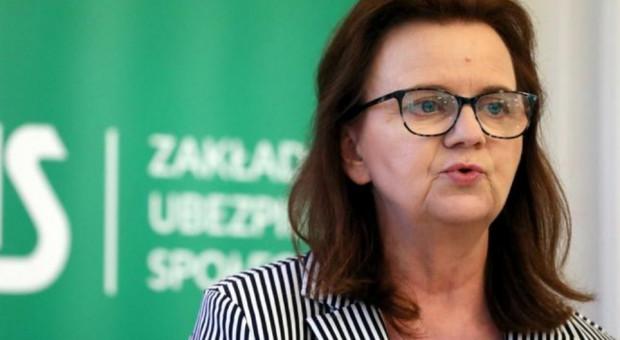 Uścińska: Poszerzamy formy wsparcia dla przedsiębiorców