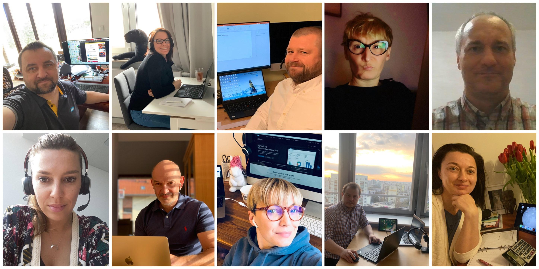 Pracownicy SAP Polska również pracują z domu fot. Facebook/SAP Polska