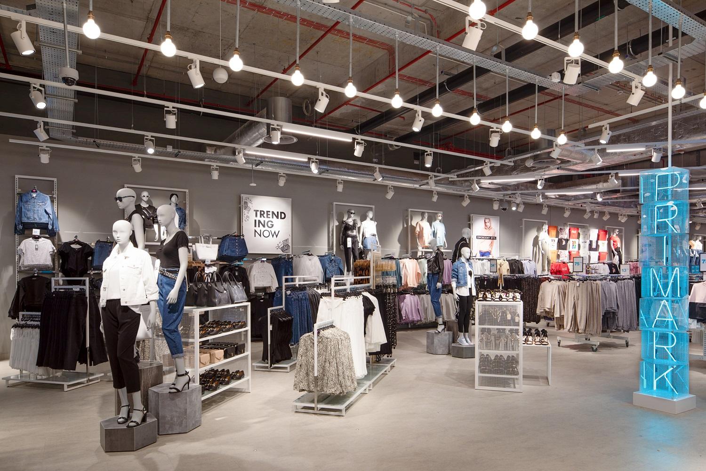 Pierwszy sklep sieci Primark mieści się w Galerii Młociny w Warszawie (Fot. mat. pras.)