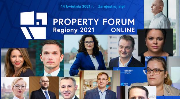 Property Forum Regiony 2021: Poznaj wyjątkowych gości!