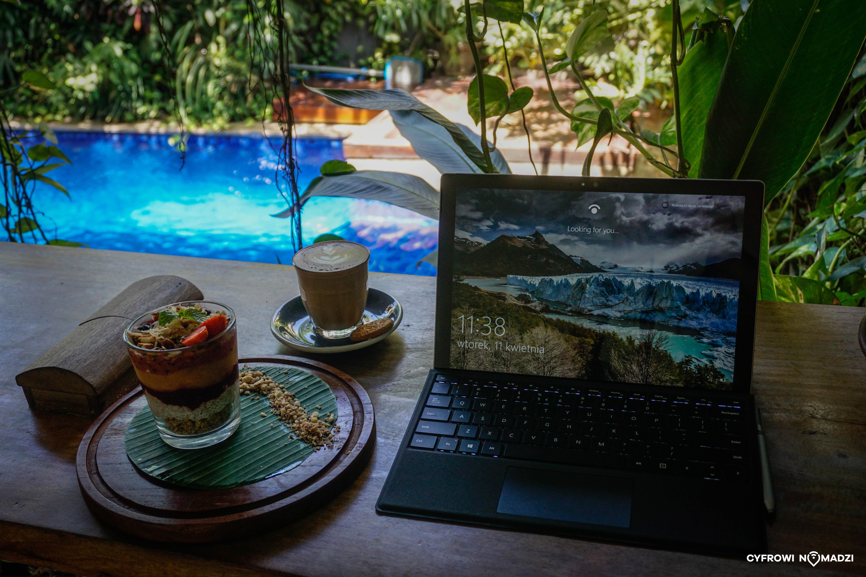 Poranek w pracy na Bali (Fot. mat. pryw.)